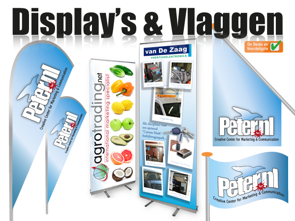 Display's & Vlaggen